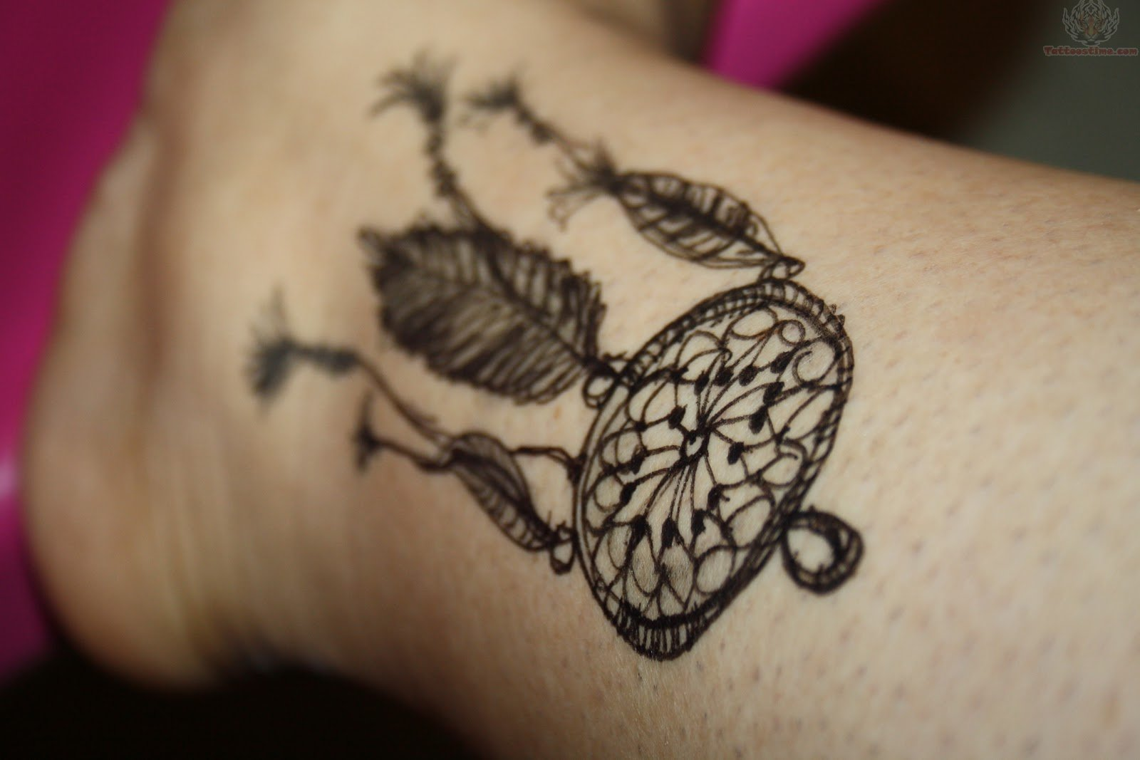 Dream Catcher Tattoo Designs for Women