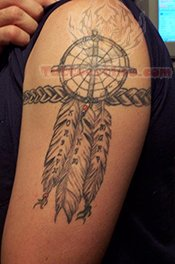 Dream Catcher Tattoo For Armband