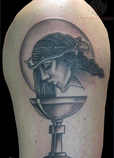 Jesus Angel Tattoo