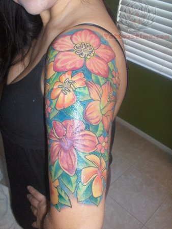 Sleeve Tattoos on Half   Sleeve Tattoos Pictures And Images   Page 2