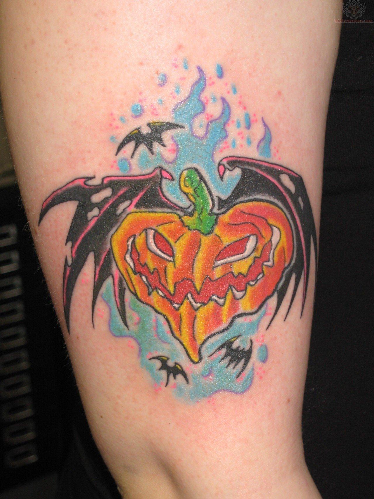 Halloween Tattoo Ideas: Halloween Tattoo Design