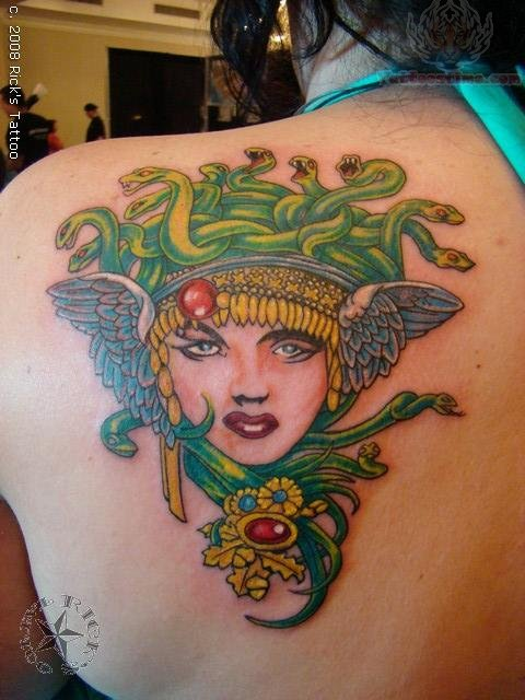 Medusa Tattoos Page 8