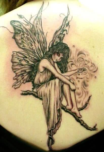 Angel Tattoo Design For Couple