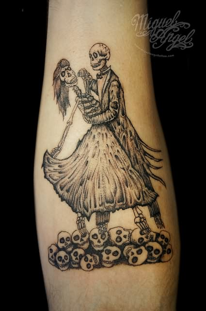 Dancing Couple Tattoo