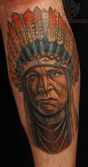 Indian Native Tattoos Styles