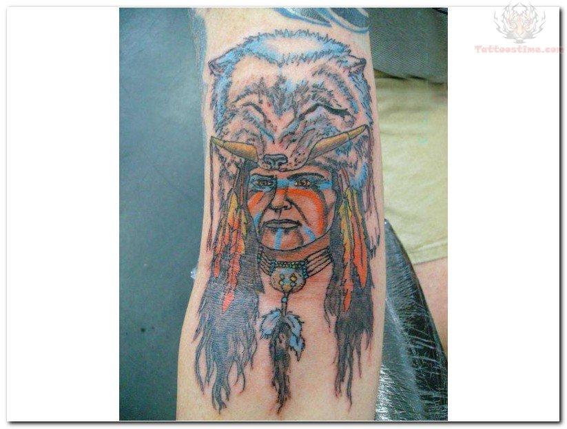 Native American Bear Tattoo Indian New Tattoo Design