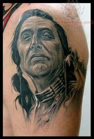Cherokee Warrior Tattoos