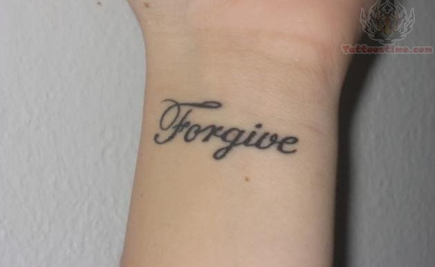 Simple Tattoo Lettering