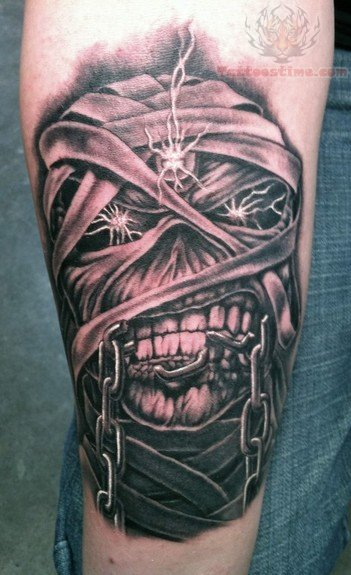 Eddie Mummy Tattoo
