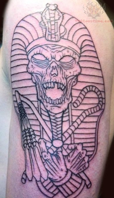Egyptian Mummy Tattoo
