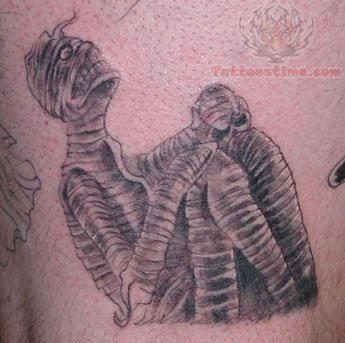Mansion Mummy Tattoo