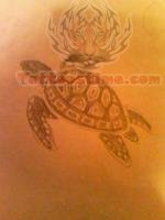 Turtle - Sea Creature Tattoo