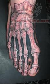 Foot Skeleton Tattoos