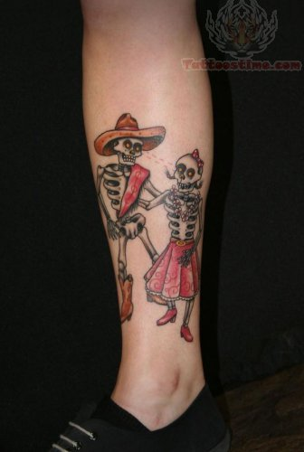 skeleton tattoo images amp designs