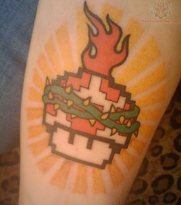 Video games tattoo images designs for The game tattoos