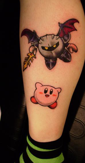 Kirbymetak Night Game Tattoo