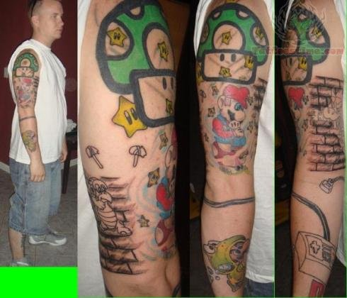 Games Tattoo