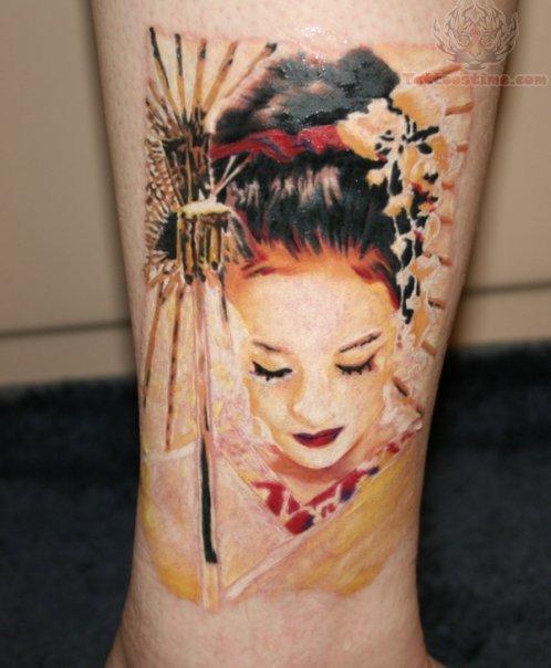 A Geisha Woman 107