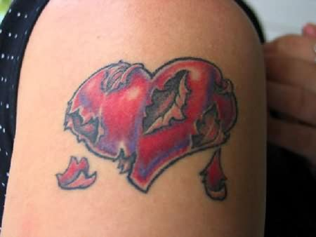 Torn Heart Tattoo