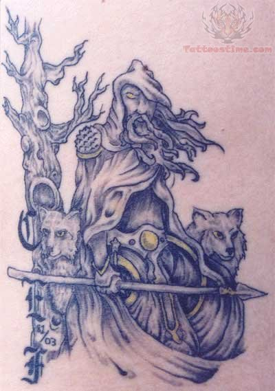 Wizard Tattoo Images & Designs