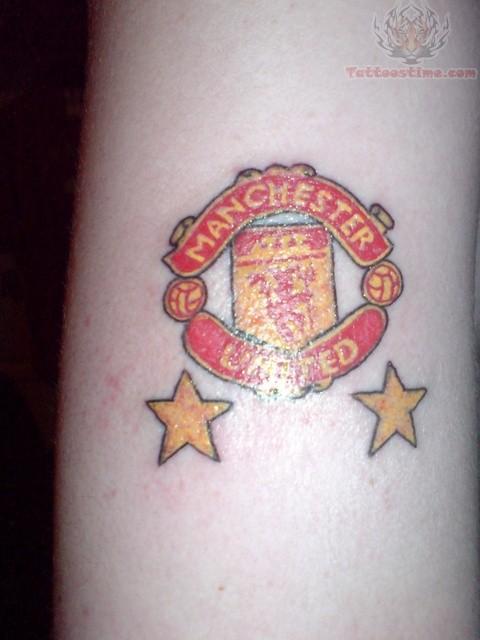 Manchester United Red Devil Tattoo