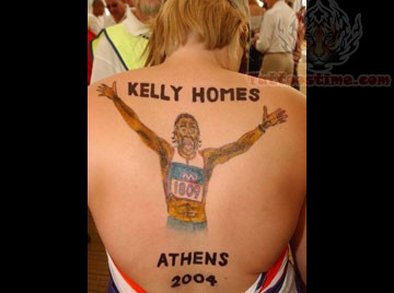 Wonderful Olympic Athlete Tattoo