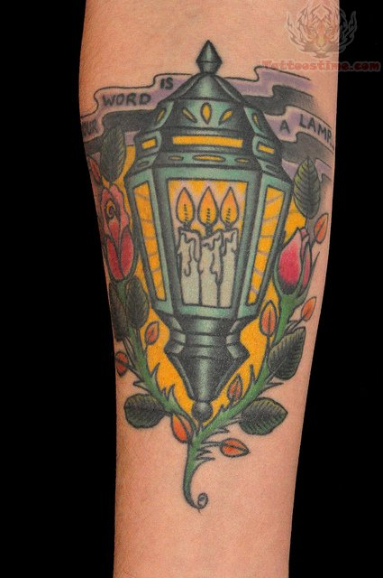 Candle Lamps Tattoo