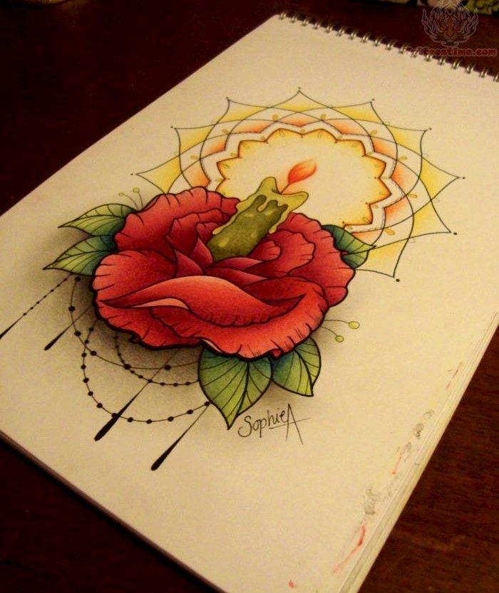 Red Rose Tattoo