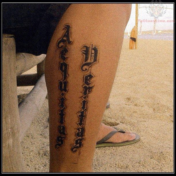 Veritas aequitas ambigram car interior design for Veritas aequitas tattoos