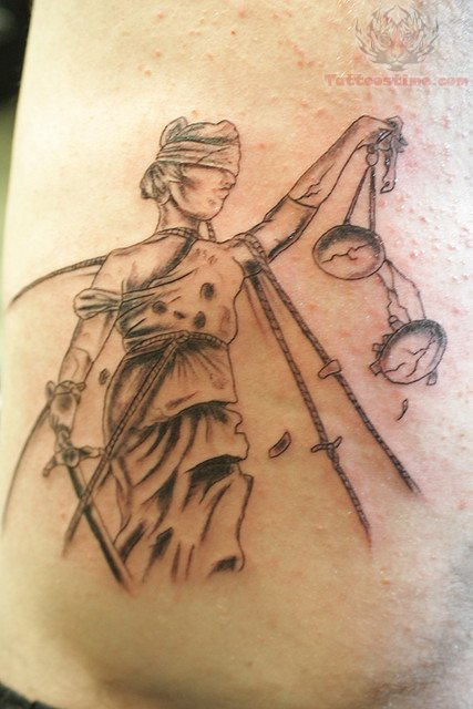 Justice For All Tattoo
