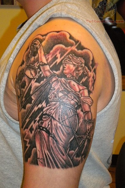 justice tattoo images amp designs