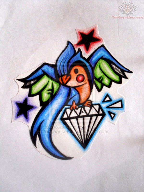 Diamond Tattoos Pictures And Images Page