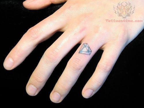 275272d9ac988 Ceker: Finger Ring Diamond Tattoo