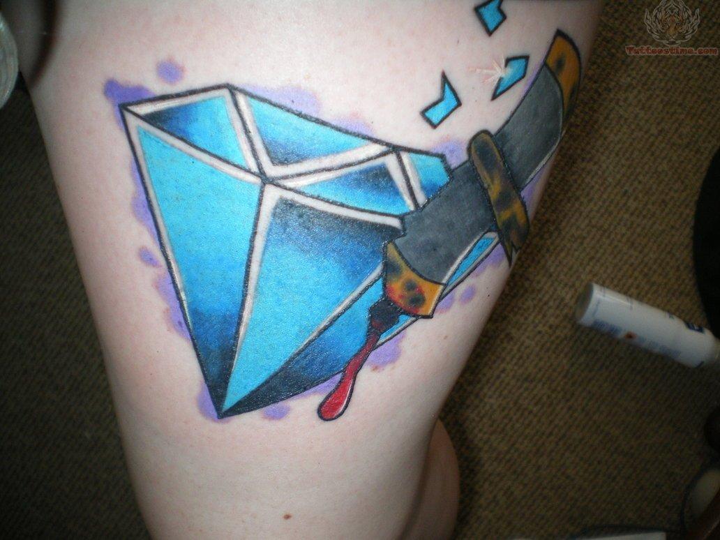 Diamond Crown Tattoo