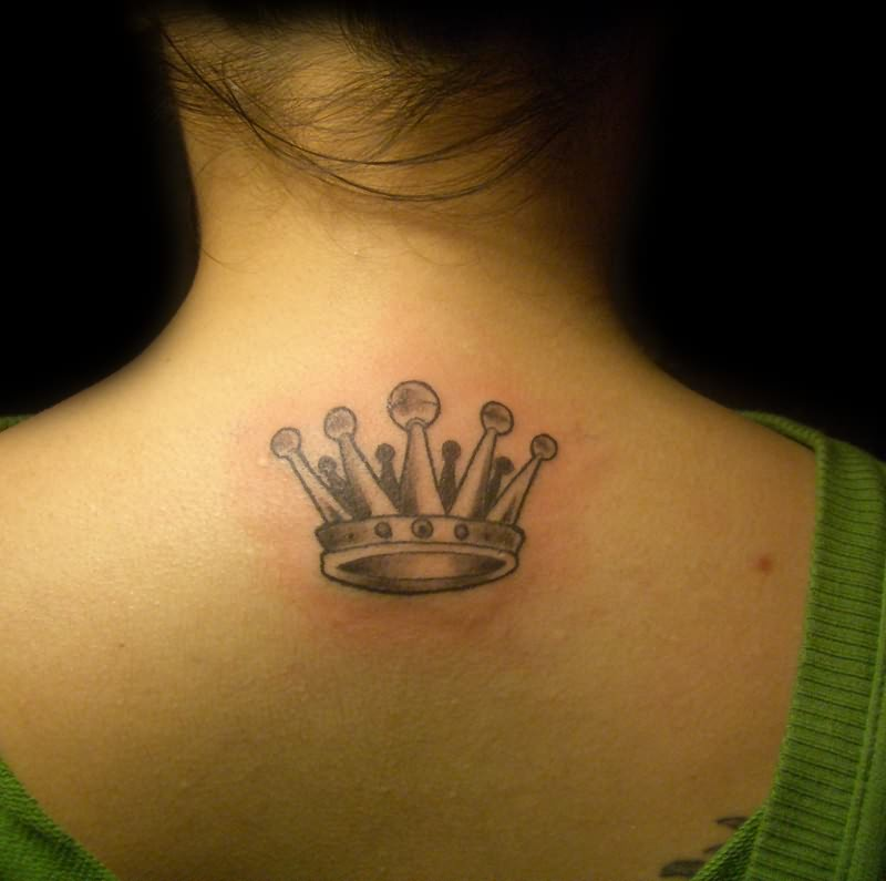 Amazing tattoo ideas crow and dove tattoo for Crown tattoos on lower back