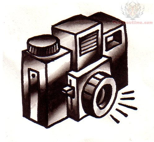 Camera tattoo images designs for Tattoo shops junction city ks