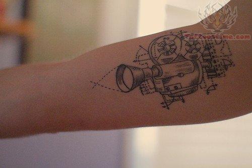 Cinema Tattoo- Video Camera