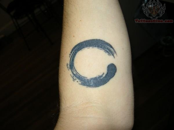Circle Paint Tattoo