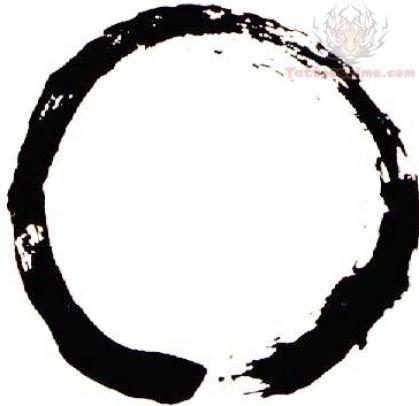 Zen Circle Symbol Tattoo DesignZen Symbols Tattoos