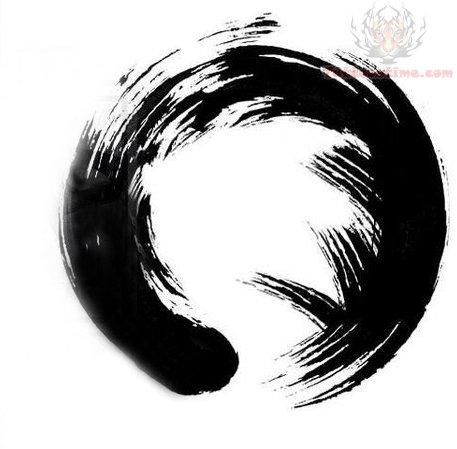 Zen Symbol Tattoo Sample