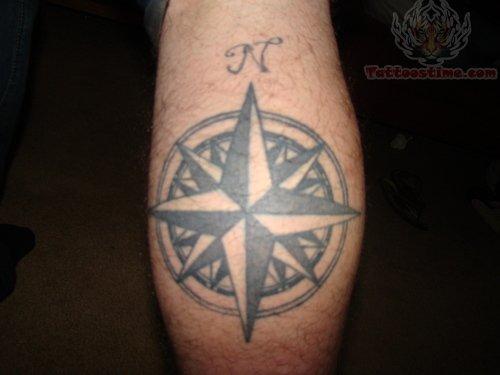 Nautical compass tattoo design for Nautical compass tattoo