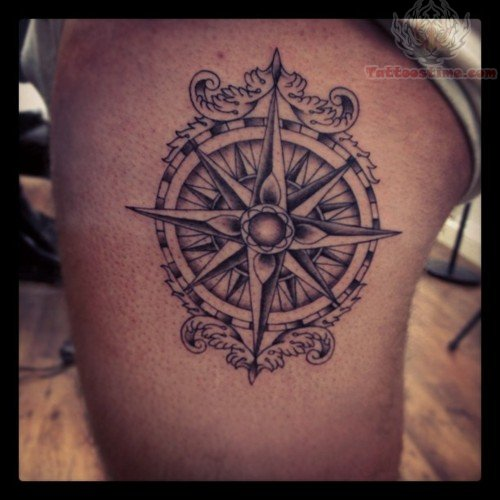 Nautical Compass Tattoos