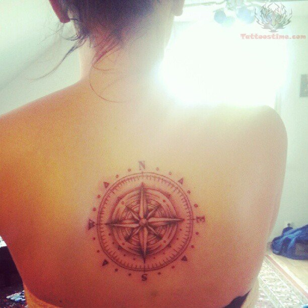 Compass Tattoo Images Amp Designs