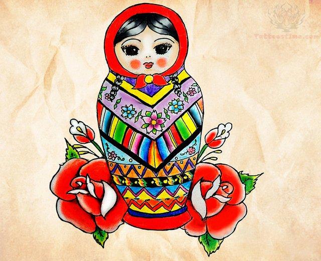 Matryoshka Tattoo Images Amp Designs