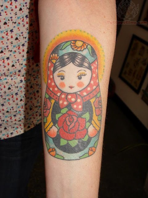 Black Baby Doll Tattoo: Matryoshka Tattoo Images & Designs