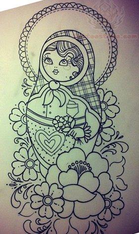 Matryoshka Tattoo Images & Designs