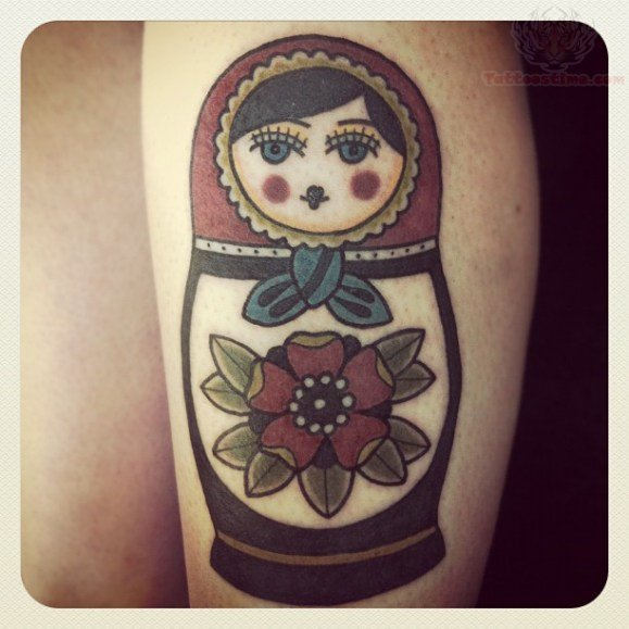 Tatuajes Matryoshka Tattoo