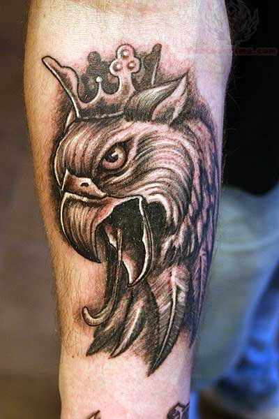 Татуировка грифон Значение, фото и эскизы тату грифон