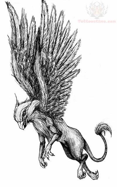 Griffin Tattoo Images & Designs | 400 x 637 jpeg 61kB