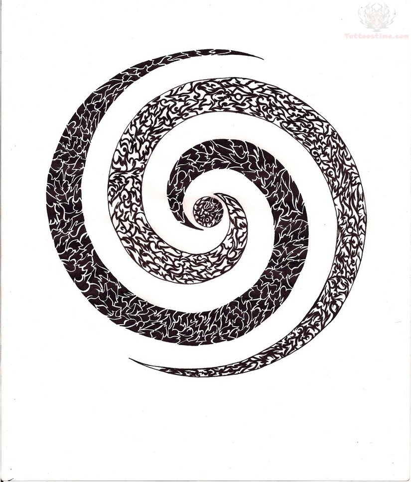 Spiral Tattoo Design Collection